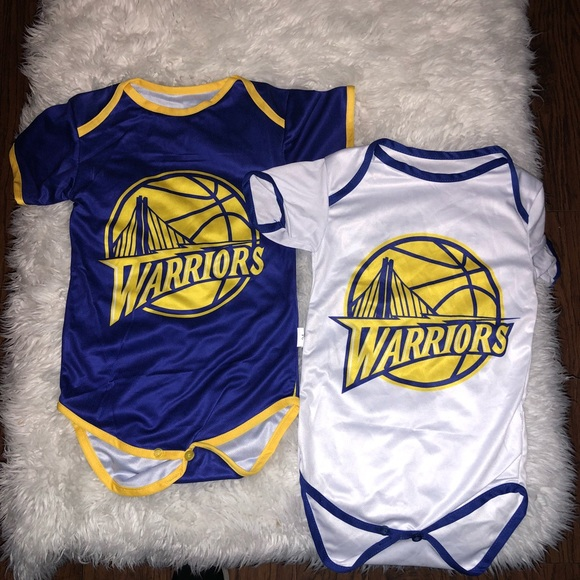 best service ed24a 2a17c Stephen Curry Jersey Style Onesie *Various Sizes* Boutique